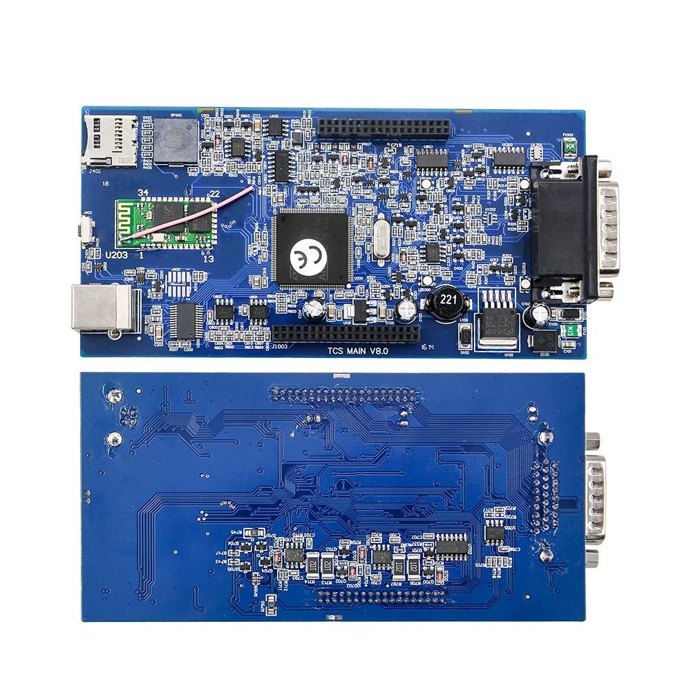 Купить Бесплатная доставка VCI 2015.03 R3 TCS CDP pro plus Бесплатной активации С bluetooth BT сканер LED 3 IN1 Коробки