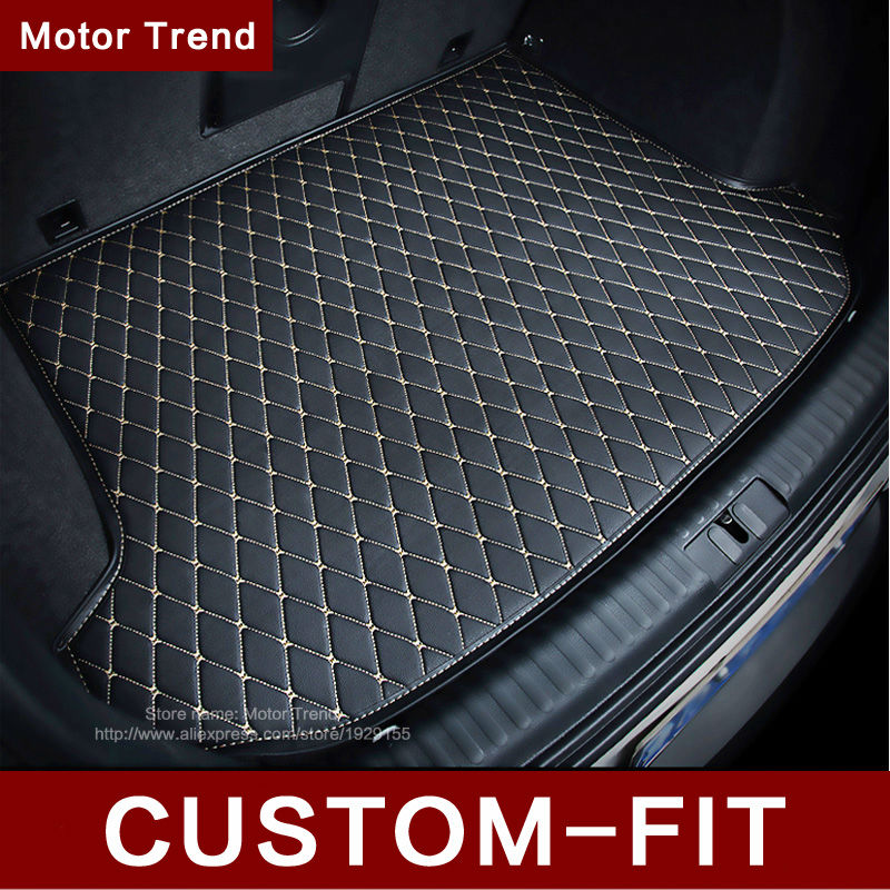 Custom fit car trunk mat Infiniti EX25 FX35/45/50 G35/37 JX35 QX80/56 3D weather car-styling tray carpet cargo liner