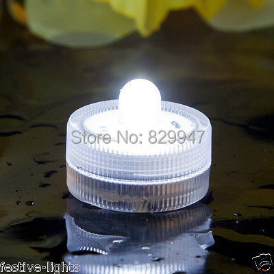 (50 pieces/lot) Free Shipping_ Submersible Led Lights Underwater Tealight Wedding Party Floral Vase Candle Centerpiece decor(China (Mainland))
