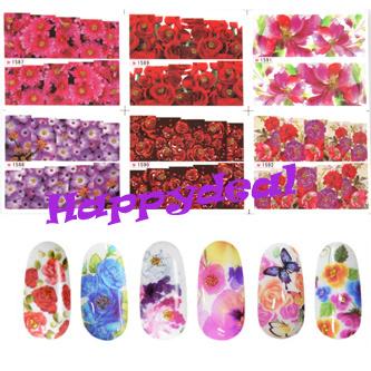 цена на Наклейки для ногтей Brand New 6 Futie 1587/1592 0501