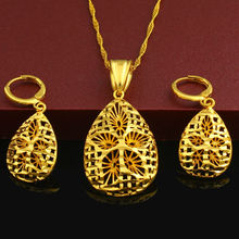 New Arrival Ethiopian Jewelry Set Pendant /Necklace/Earring/Jewelry 24K Gold Plated Eritrea Habesha Women Party African(China (Mainland))