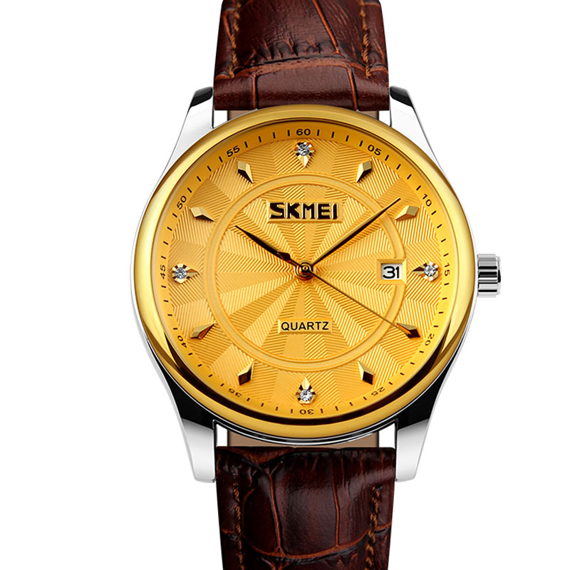 Skmei New 2016 Business Men Quartz Watch mens stainless steel Relogio Masculino role watch mens watches top brand Luxury(China (Mainland))