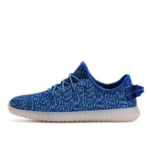 2016 Women Men chaussure tenis Led simulation Light up yezzy trainers led basket shoes Luminous with usb for adults femme Female(China (Mainland))
