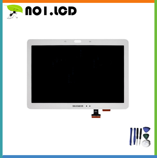 White For Samsung Galaxy Note 10.1 SM-P600 P605 P600 LCD Display Panel +Touch Screen Digitizer Replacement Repairing Parts<br><br>Aliexpress