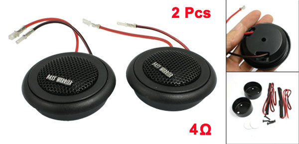 """Strong Self Adhersive 150W Dome Tweeter 2.3""""*0.9"""" Size Universal Auto Speaker For Car Styling"""