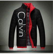 2015Autumn winter men warm cotton-padded clothes men slim-fitting white Winter jacket coat men plus size Winter clothes M-XXXXXL