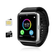 Bluetooth Smart Watch GT08 Android Waterproof SmartWatch Phone SIM Card Camera MP3 Fitness smart watches batter than DZ09