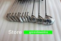 2015 SLDR Brand Golf Clubs Complete set  Driver +Woods  +Irons+1putter Steel Regular flex  shaft Men with Head covers