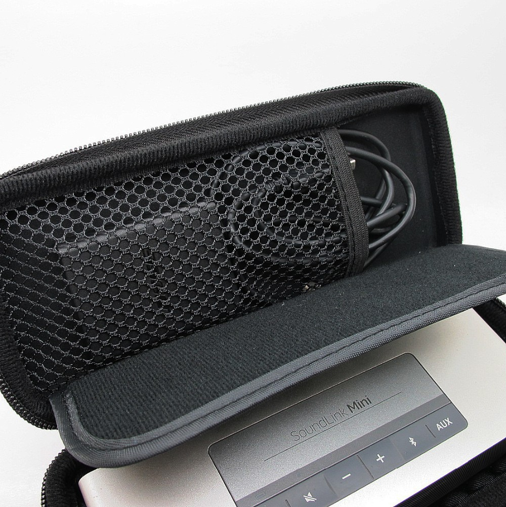 For Bose Soundlink mini Wireless Bluetooth Speaker Hard EVA Travel Case Bag Pouch Box Free Shipping