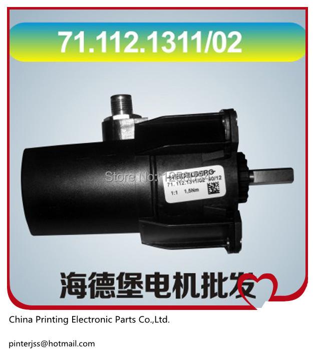 free shipping 1 piece 71.112.1311/02 offset printer heidelberg printing machine spare parts heidelberg motor 71.112.1311(China (Mainland))
