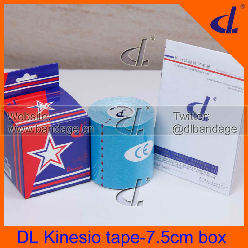 Big Roll! Wholesale Price Muscle Kinesio tape 7.5cm*5m / 75mm / 3inch Kinesiology Sports Safty Protector Free Shipping<br><br>Aliexpress