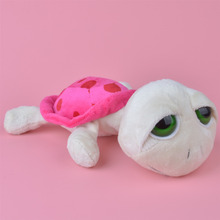 25cm Lying Pink Color Turtle Plush Toy, Cute Baby/ Kids Gift Plush Toy Free Shipping(China (Mainland))