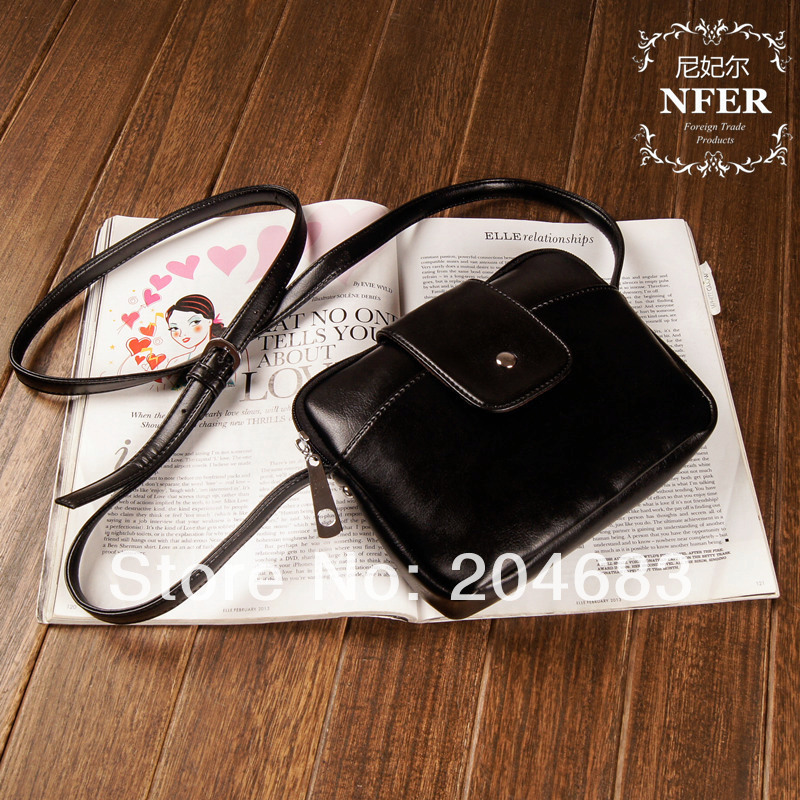 2014 Cattle fashion small bags female shoulder bag messenger simple elegant casual style IS-344  -  JULY SHOP (Min. order $15 store)