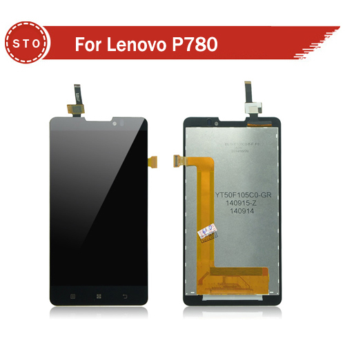 Replacement LCD Display Touch Digitizer Screen Assembly Complete For Lenovo P780 Free Shipping