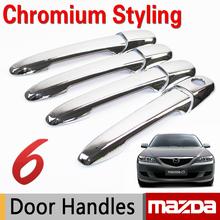 Buy Mazda 3 2003-2009 Mazda 6 2002-2008 Accessories Chrome Door Handles Trim Sticker Car Car Styling Atenza AXELA for $13.57 in AliExpress store