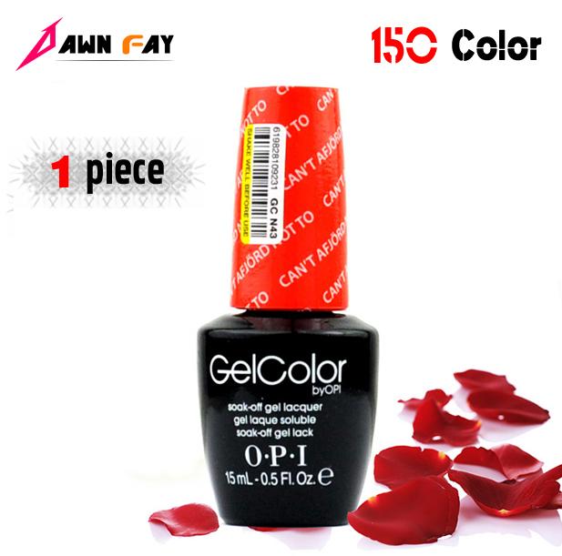 Новое поступление 150 цвет опи уф-шеллак грунтовки ногтей уф-лампа базы пальто от ...