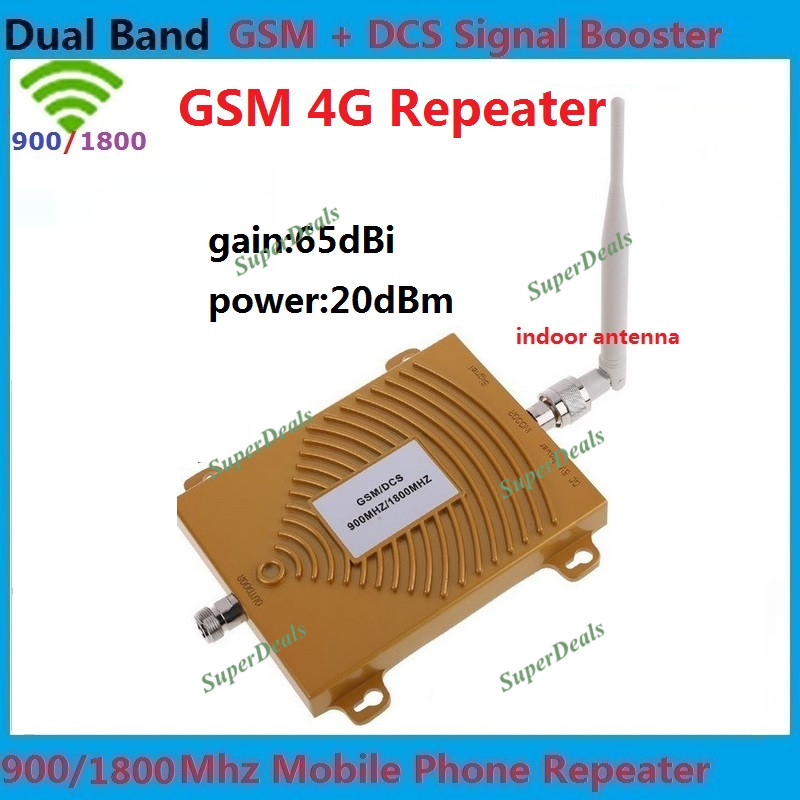 2G GSM 900 4G DCS 1800mhz dual band mobile signal booster cell phone GSM DCS dual band signal repeater, 4G GSM signal amplifier(China (Mainland))