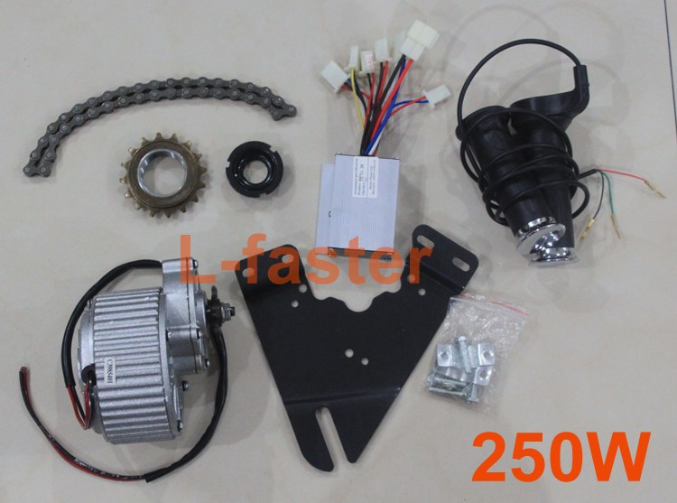 To Russia Only 24v 250w Electric Motor Kit Electric
