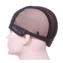 Wig cap for making wigs with adjustable strap on the back weaving cap size S/M/L glueless wig caps good quality free shipping(China (Mainland))