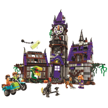Bela Scooby Doo Mystery Castle Courtyard Minifigures Building blocks Compatible With Lego Toy Kid Gift(China (Mainland))