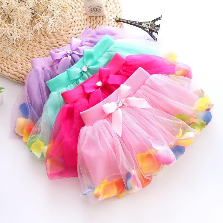 New Arrival Summer Baby Girls Chiffon Tutu Skirt Cute Princess Party Sparkle Fluffy Pettiskirts Kids Silk Ballet Skirts Ly34(China (Mainland))