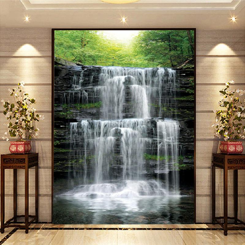 Online Get Cheap Waterfall Wall Murals Alibaba Group