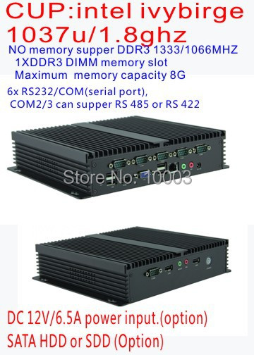 All in one pc mini PC,mini hd system computer, Celeron dual-core PC,living room PC.All aluminum fanless design(China (Mainland))