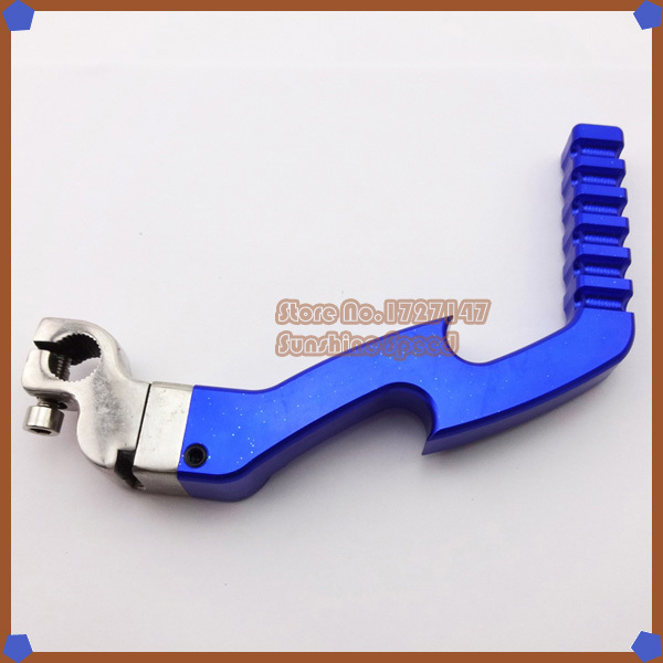 CNC Alloy Kick Start Starter Lever Blue For 50cc 70cc 90cc 110cc 125cc ATV Quad Pit Dirt Bike Moped Scooter Motorcycle(China (Mainland))