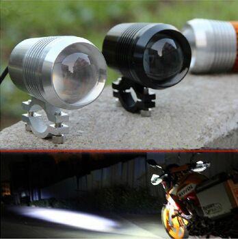 1Pcs 12-80v 30W Cree U2 Motorcycle Car led Driving 3 Mode Lights Car Truck lens External Headlight Offroad Car ATV SUV Spotlight(China (Mainland))