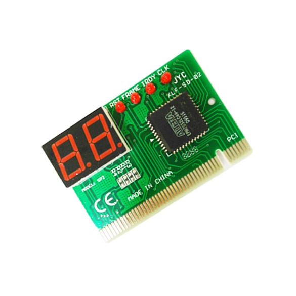 Гаджет  2Digit PC PCI Diagnostic Card Motherboard Analyzer Tester Post for Desktop   SL None Компьютер & сеть