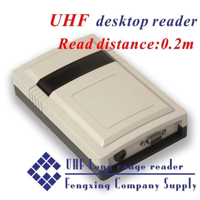UHF RFID Desktop reader and writer+Free sample card + free SDK(China (Mainland))