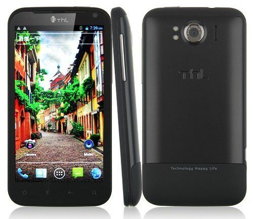 Free 4GB Card THL W3+(Dual Core) mtk6577 android 4 0 phone 1.0GHz GSM + WCDMA GPS WIFI smart phone Free HK post + gifts
