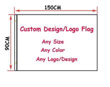 free shipping Custom Flag 90 x 150 cm Polyester Customize Flags And Banners For Home Decoration Sport Outdoor Banner(China (Mainland))