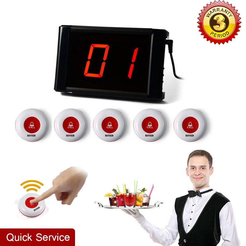 Restaurant Calling System Guest Pager LCD Display Waiter Call Button Guest Paging System Pagers Hospital Call System 171+5*01A(China (Mainland))