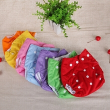 10PCS Reusable Baby Cloth Nappies Newborn Breathable Nappy Changing Washable Cloth Diapers Leakproof Wholesale H611