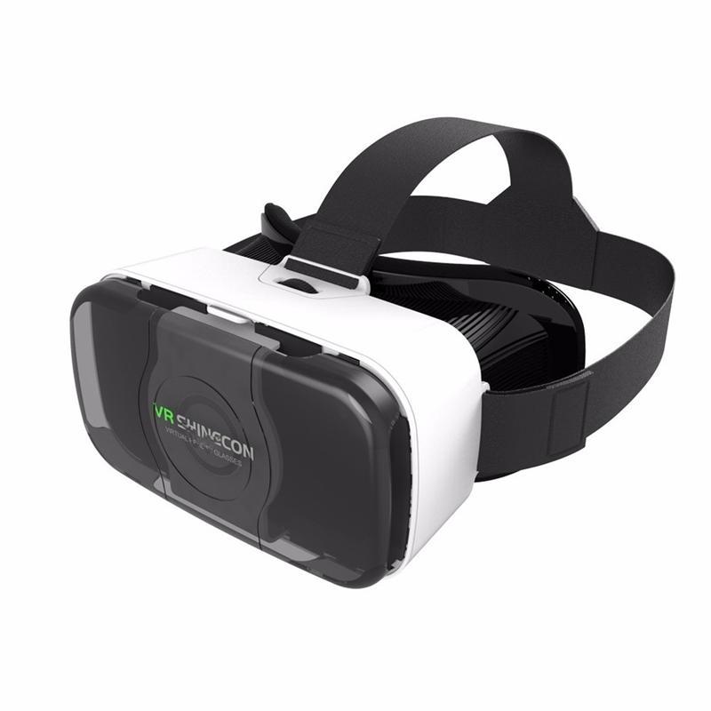 Original VR SHINECON SC-3GD VR Headset Virtual Reality 3D Glasses for 4.4-6 inch Phone 80-90 VR SHINECON SC-3GD VR Headset