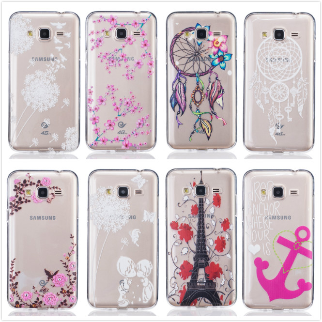 Case Design 3d printed phone case : J3 2016 Case Soft Silicon Flowers Dancer Girl Butterfly Clear Phone ...