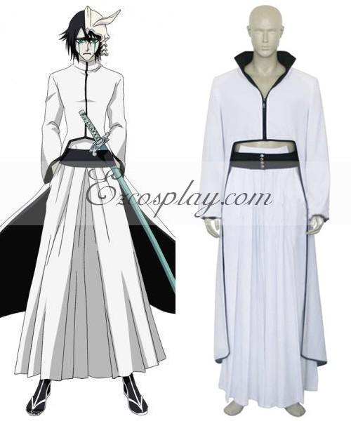 product Bleach Cuarto Espada Ulquiorra Schiffer Cosplay Costume E001