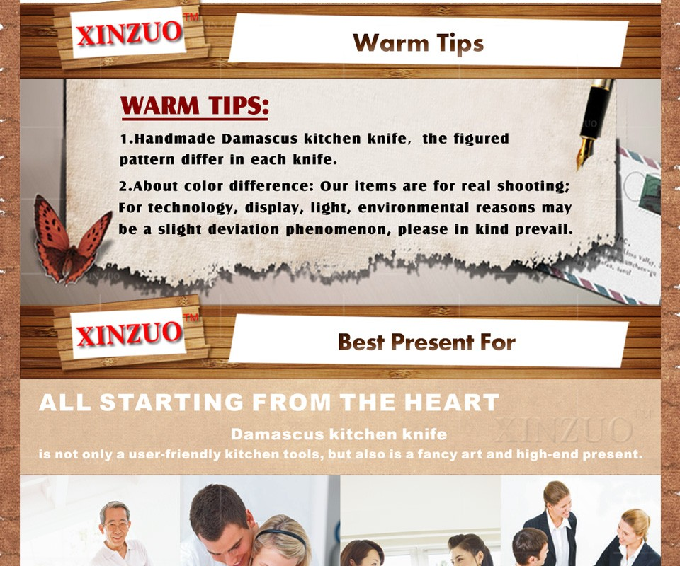 "Buy XINZUO 7"" inch santoku knife 73 layers Damascus kitchen knife sharp japanese chef knife Japanese VG10 wood handle free shipping cheap"
