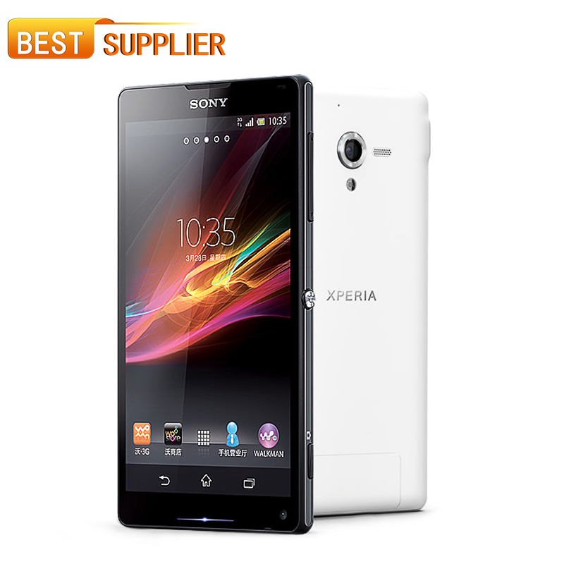 2016 Rushed 13mp Bar Camera Original Unlocked Cell Phone for Sony Xperia ZL L35h Quad-core 3g&4g Wifi Gps 5.0'' 2GB RAM 16GB ROM(China (Mainland))