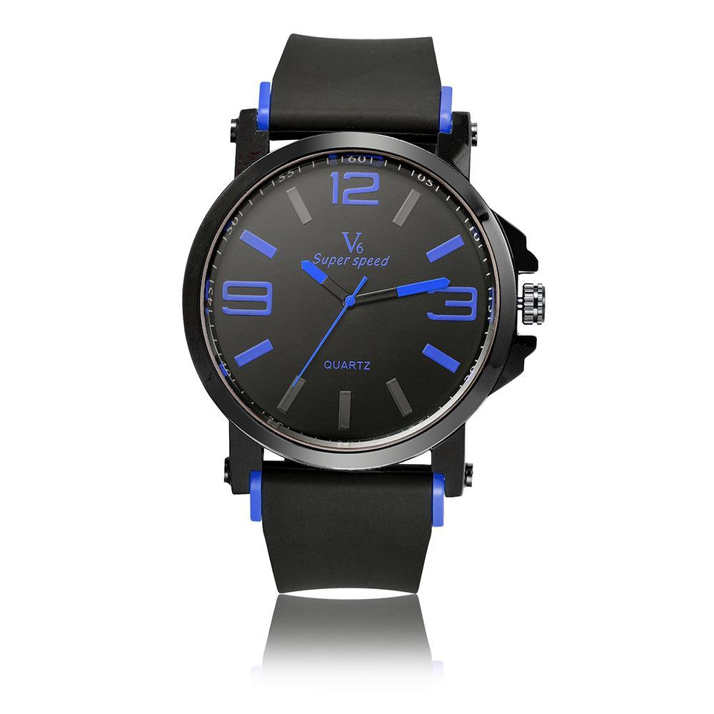 V6 2015 Fashion Hours unisexs Quartz Watch Silicone band Sport men/women analog quartz wristwatches  lovers watches LRY77<br><br>Aliexpress