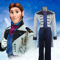 Custom Made Prince Hans Cosplay Costume Halloween Carnival Christmas Cosplay Men Suit T344115