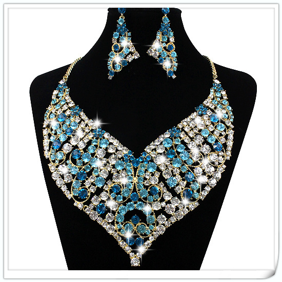 Fashion 18K Gold Plated Jewelry Fake Collar Choker Necklace & Pendants Wedding Bridal Jewelry Christmas Present Gift For Women(China (Mainland))