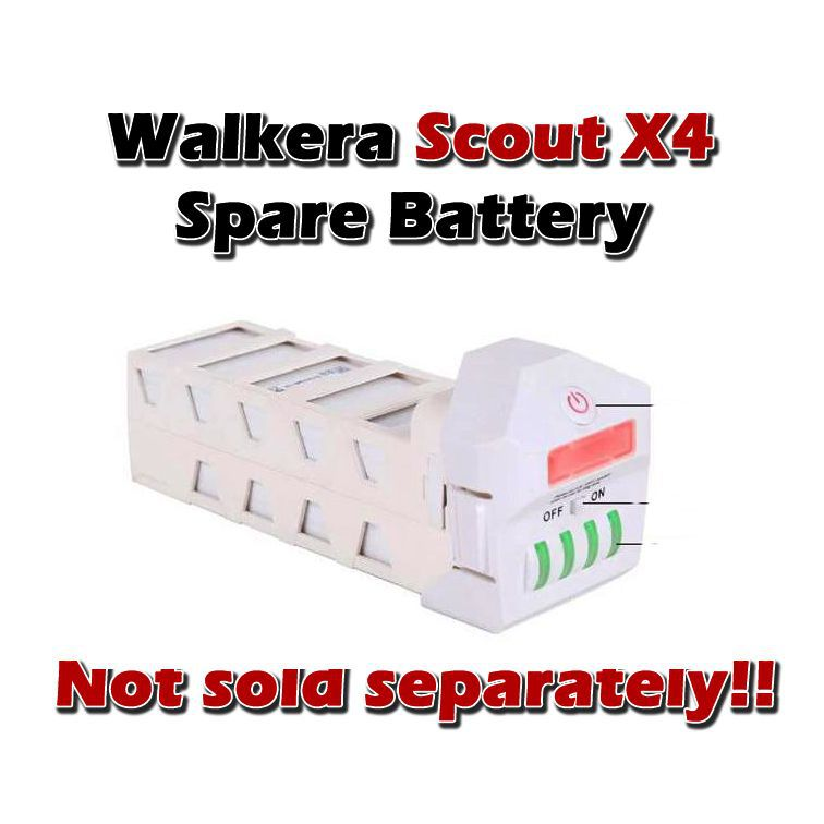 Walkera Scout x4 Original battery,  Not sold separately<br>