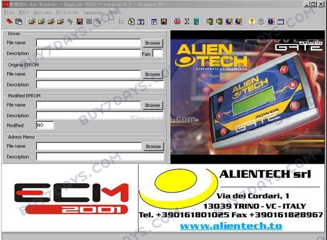 ECM chip tuning 2001 V6.3 with 11500 Drivers (auto software,auto repair software,ecm chiptuning 2001 v6.2)(China (Mainland))