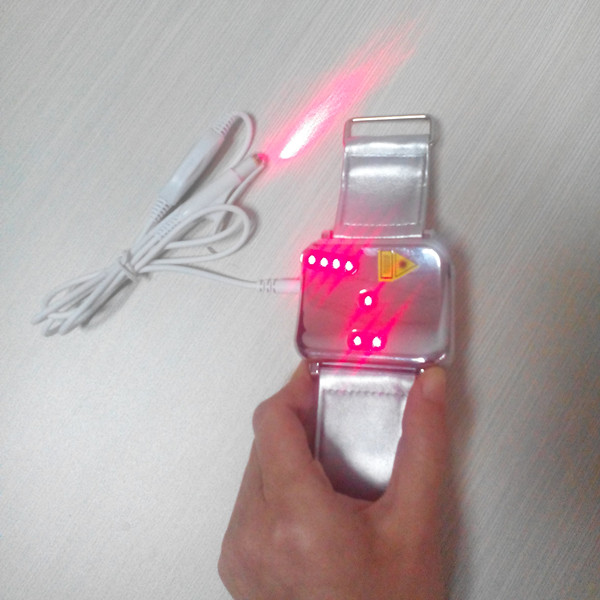home use red cold laser therapy blood cleaner laser watch no medicine no chemical(China (Mainland))