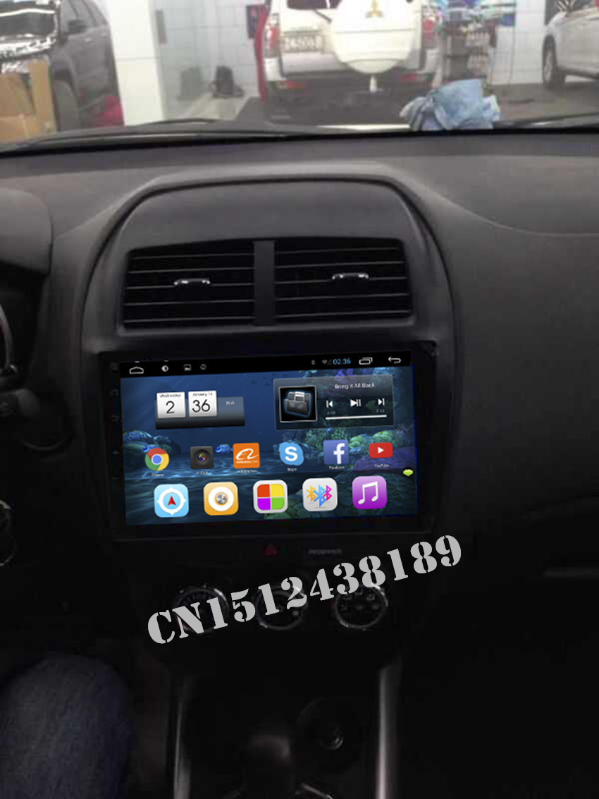 10.2 inch Android 4.2.2 Car DVD Player GPS Navi radio For Mitsubishi ASX 2010 2011 2012 2013 2014 2015 with 3G wifi Free map(China (Mainland))