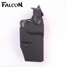 Tactical Safariland polymer Heatrola Waist Holster convenient solid belt Gun use Compact USP - Falcon Gear Co.,Ltd store