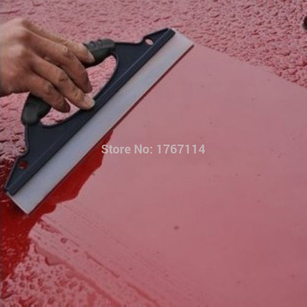 2016 Hot Sale 1 Pcs High Quality Blue Car Soft Silicone Mobil Cuci Cleaner Wiper Squeegee Shower Kit Care Tool(China (Mainland))