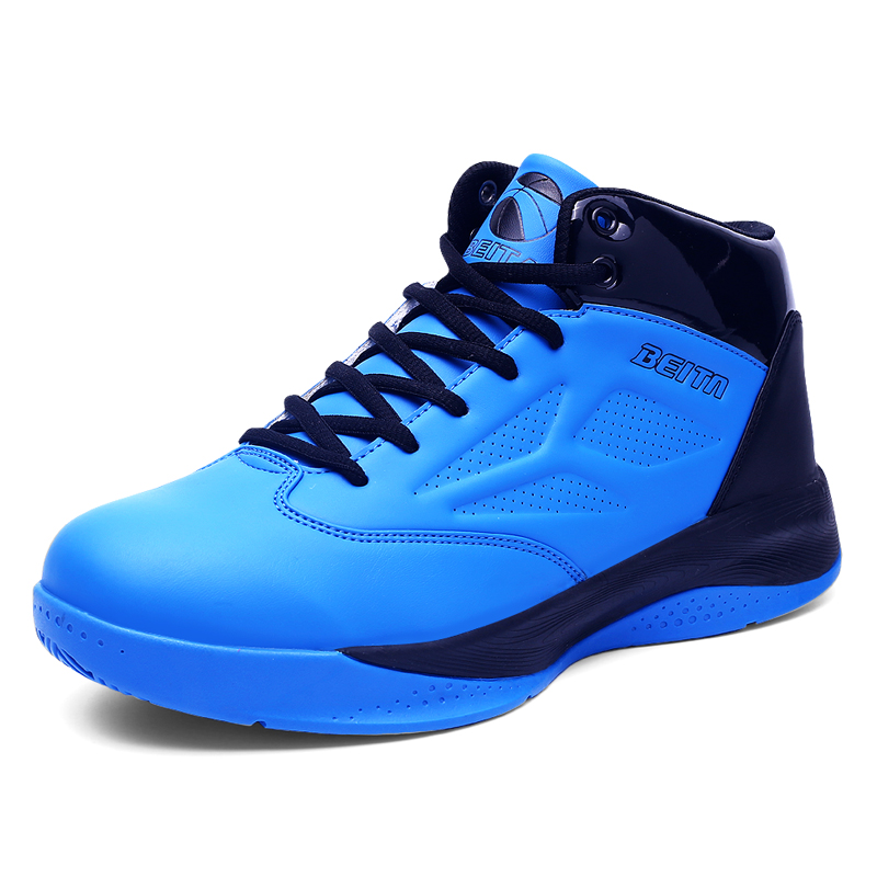 2016 New Design High Top Men Basketball Shoes Black Red Blue Men Outdoor Authletic Sports Basketball Sneakers Shoes NX4083(China (Mainland))